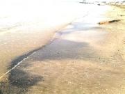 Sporcizia sulla spiaggia