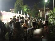 Demolizione cavalcavia, cittadini e CVC assistono ai lavori