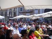 Pubblico in Piazza Roma