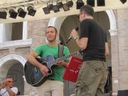 Lorenzo Artegiani pronto ad esibirsi