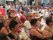 Pubblico sempre numeroso in Piazza Roma