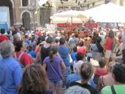 Piazza Roma sempre gremita di pubblico