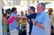 Massimo Cirri e Filippo Solibello mentre dialogano col pubblico
