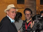 Nel backstage anche Renzo Arbore, ospite del Summer Jamboree