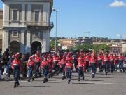 La Protezione Civile sfila al Foro Annonario