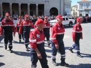 La Protezione Civile di Senigallia sfila al Foro Annonario