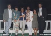 Massimo Mariselli, Lavinia, Mommi e moglie, cameriera, Giorgio Santinelli. Rotonda a Mare Senigallia