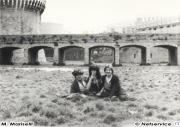 Rocco, Massimo e Cinzia Diambra alla Rocca Roveresca Senigallia