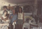 Romeo Micciarelli e Manuela Miriam Winter al Ristorante al Molo dei fratelli Mariselli