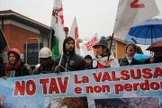 Il Comitato No-Tav a L'Aquila
