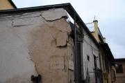 L'Aquila - Palazzi danneggiati dal sisma del 6 aprile 2009