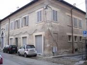 L'edificio di via Cavallotti a Senigallia luogo del ritrovamento archeologico