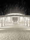 Rotonda sotto la neve - Foto di Elena Mengaroni
