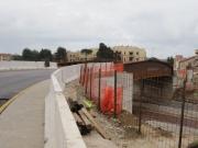 Il nuovo ponte su via Cupetta, ora aperto al traffico