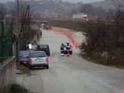 Senigallia: bretella di via Po che costeggia la A-14