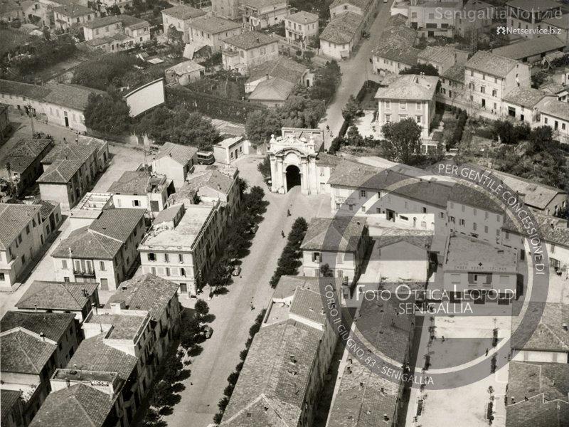 Veduta aerea di via Carducci a Senigallia - Leopoldi-2160