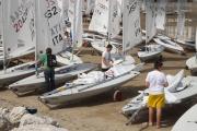 Le giornate dell'Italia Cup di vela iniziano a terra