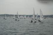 Il campo di regata dell'Italia Cup 2013