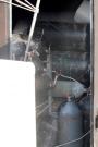 Il container per lo stoccaggio delle bombole