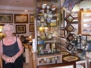 Brunella Romyo nel suo studio