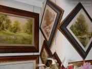 L\'interno della galleria di Brunella Romyo in via Cavour