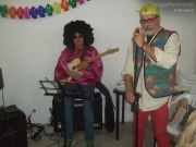 Celidoni e Carbonari sul palco di Woodstock a Scap'zan