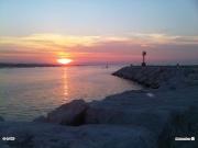 12/07/2010 - Senigallia, tramonto al molo
