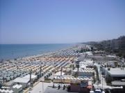 27/07/2010 - Senigallia, panorama della spiaggia di levante