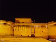 Rocca roveresca di Senigallia in notturna