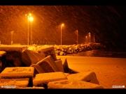 10/01/2011 - Porto innevato a Senigallia