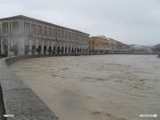 03/03/2011 - Il fiume Misa in piena a Senigallia