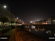 12/04/2011 - Fiume Misa e centro città in notturna