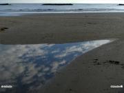 14/04/2011 - Nubi riflesse sull'acqua al Cesano di Senigallia