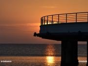 18/04/2011 - Alba vista dalla Rotonda a Mare di Senigallia