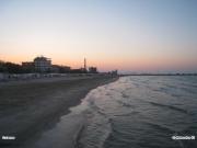 29/04/2011 - Spiaggia di Senigallia al tramonto