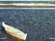 17/01/2012 - Scafo sulla spiaggia di Senigallia