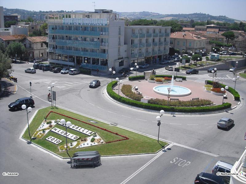 10/09/2010 - Senigallia, Piazza della Libertà vista da Terrazza ...